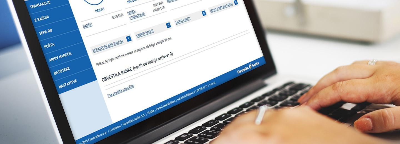 Spletna in mobilna banka: kjerkoli in kadarkoli